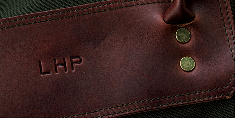 Leather Gifts Personalized with Embossing