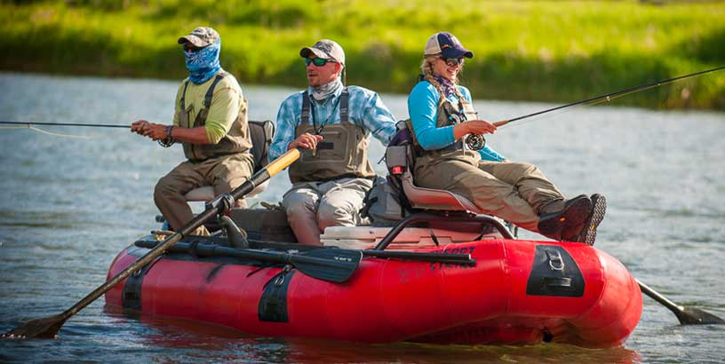How to Fly Fish from a Raft