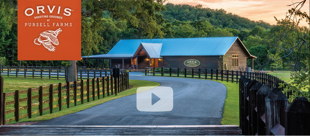 Orvis Shooting Grounds at Pursell Farms | Watch Video