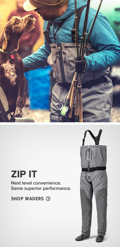 ZIP IT Next level convenience. Same superior performance.