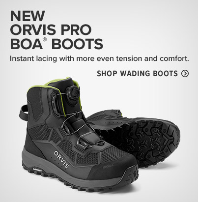 NEW ORVIS PRO BOA® BOOTS