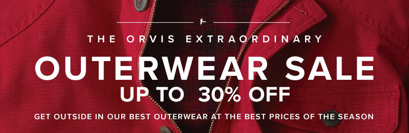 OUTERWEAR SALE | SHOPE NOW