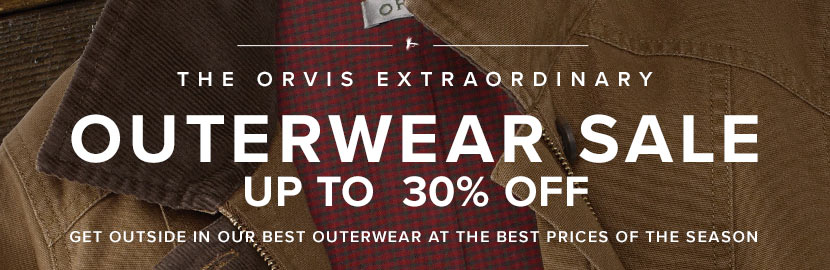OUTERWEAR SALE | SHOP NOW