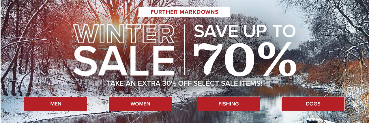 Winter Sale-Save up to 70% on Select items