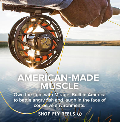 STAND OUT ON THE STREAM Add a splash of color to your fly rod with the new, limited-edition purple Hydros reel. Shop Fly Reels