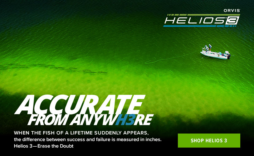 HELIOS 3 FLY RODS- ACCURATE FROM ANYWHERE!