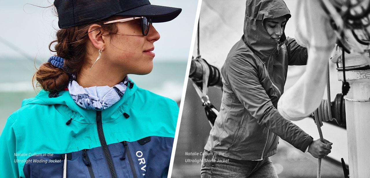 Natalie Cullum | The Ultralight Storm | Ultralight Wading Jacket