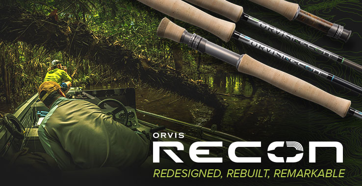 RECON FLY RODS - Maps Not Included
