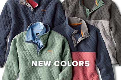 DEPENDABLE WARMTH & DURABILITY Our insulated Trout Bum® Quilted Snap Sweatshirt offers the dependable comfort you crave.
