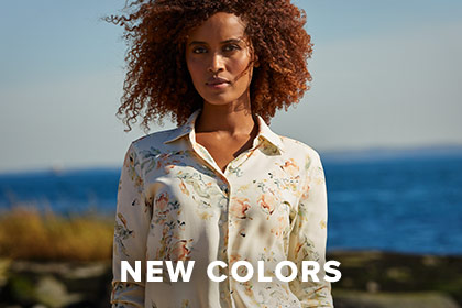 EASY-TO-WEAR, EASY-TO-LOVE WASHABLE SILK Our pure Fuji silk shirts naturally resist wrinkles, breathe, and wick moisture for year-round comfort. SHOP WOMEN'S SHIRTS