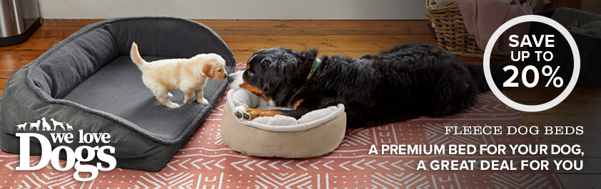 30% OFF select dog beds