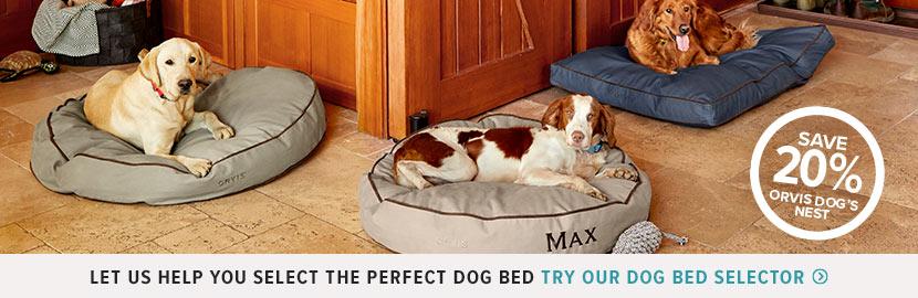 Dog Bed Selector