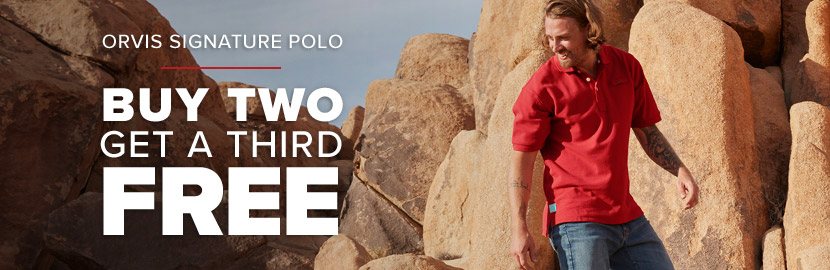 BEST POLO ON THE PLANET - BUY 2 SIGNATURE POLOS, GET A 3RD FREE