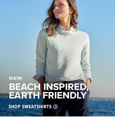 Terra Dye Crewneck Sweatshirt - BEACH-INSPIRED, EARTH-FRIENDLY