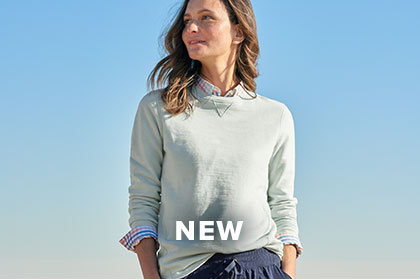 BEACH INSPIRED, ECO-FRIENDLYOur Terra Dye Sweatshirt is made with organic mineral dyes, which use 50% less water & energy than conventional pigment dyes. SHOP WOMEN'S SWEATSHIRTS