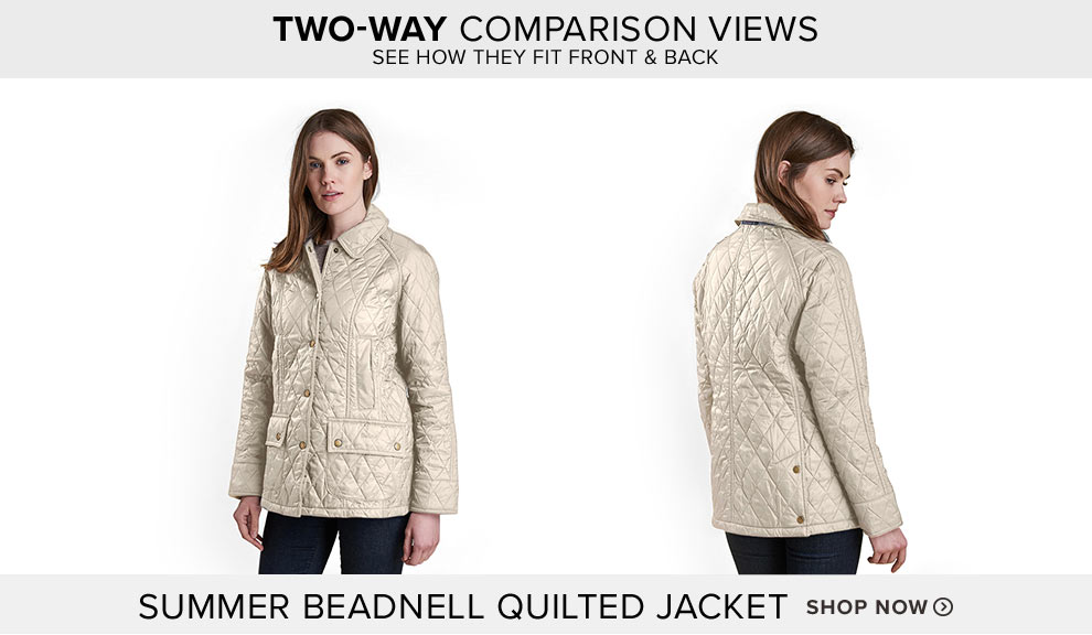 BARBOUR® SUMMER BEADNELL QUILTED JACKET - Shop Now