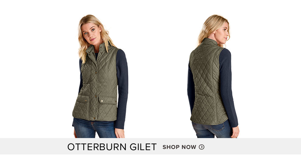 Otterburn Gilet  - Shop Now