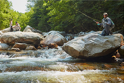 LEARN SOMETHING NEW RIGHT NOW! Our Fly Fishing Learning Center is loaded with video lessons, knot animations, gear info, and much more. Go There