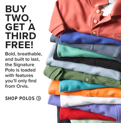 SHOP POLOS AND TEES
