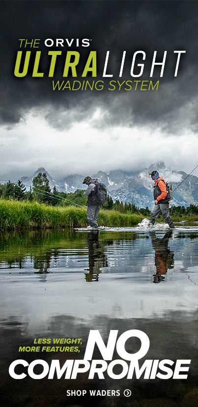The Orvis Ultralight System | Shop waders