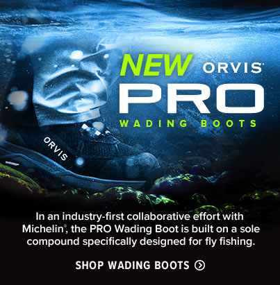 New Orvis Pro Wading Boots | Shop Wading Boots