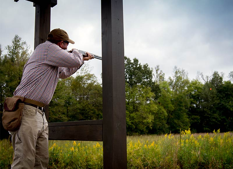 Orvis Shooting Grounds At Pursell Farms