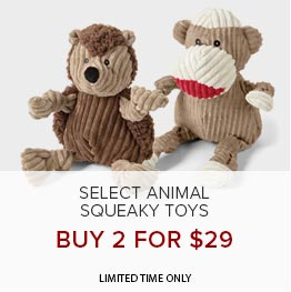 Select Animal Toys | Buy 2 for $29 | Limited Time Only