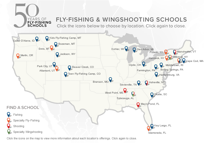 Fly Fishing Shooting Schools Lessons Orvis