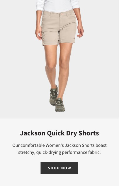 WOMEN'S JACKSON QUICK-DRY STRETCH SHORTS | SHOP NOW