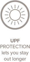 UPF Protection lets you stay out longer