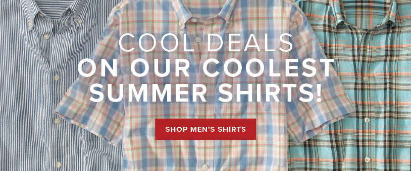 Save on Select Men's Shirts