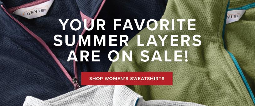 Save on Select Women's Sweatshirts!