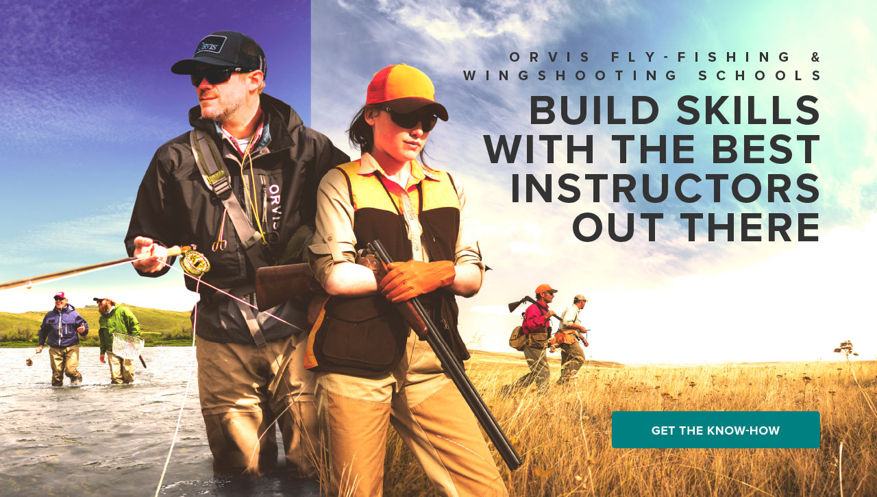 Orvis Adventures - Fly Fishing, Hunting, Ecotourism, & Luxury -- Orvis