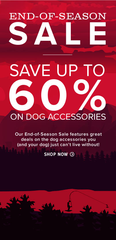 End of Season Sale Dog Products