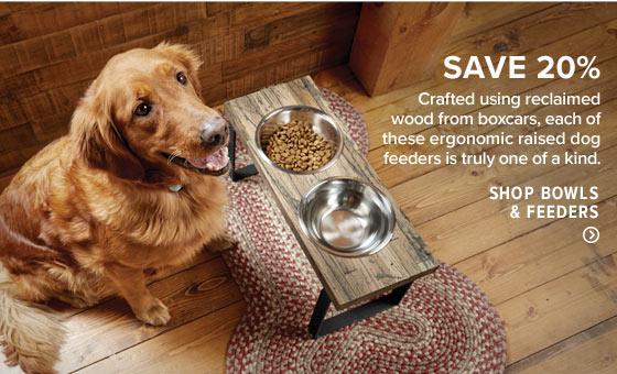 Shop Dog Bowls & Feeders