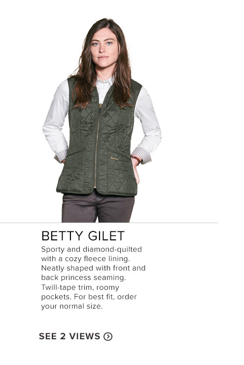 Betty Gilet - See 2 Views