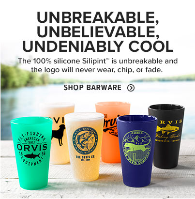 UNBREAKABLE, UNBELIEVABLE, UNDENIABLY COOL  The 100% silicone Silipint™ is unbreakable and the logo will never wear, chip, or fade.  Shop Glassware & Bar