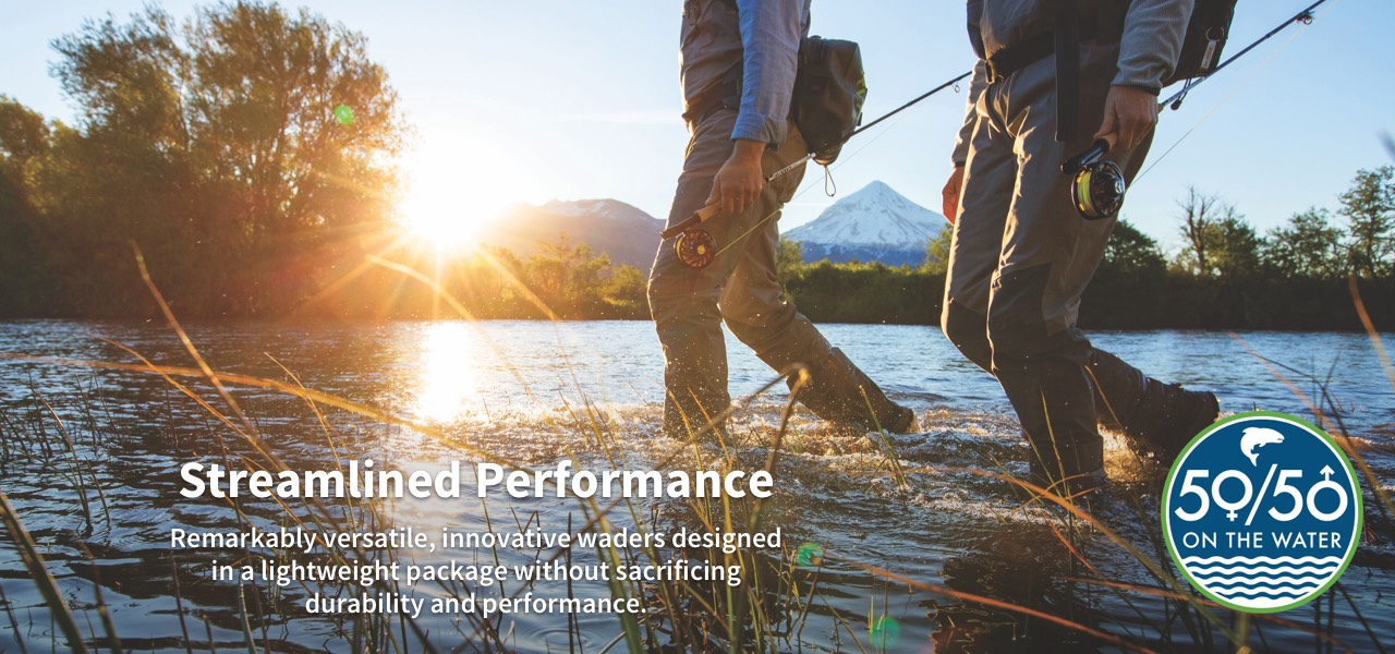 Steamlined Performance | Remarkably versatile, innovative wader designed in a lightweight package without sacrificing durability and performance.
