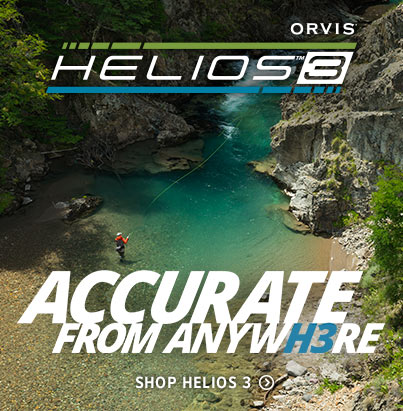 Accurate from Anywhere | Shop Helios 3 Fly Rods