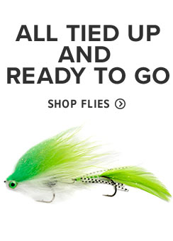 All tied up and ready to go! Shop Flies