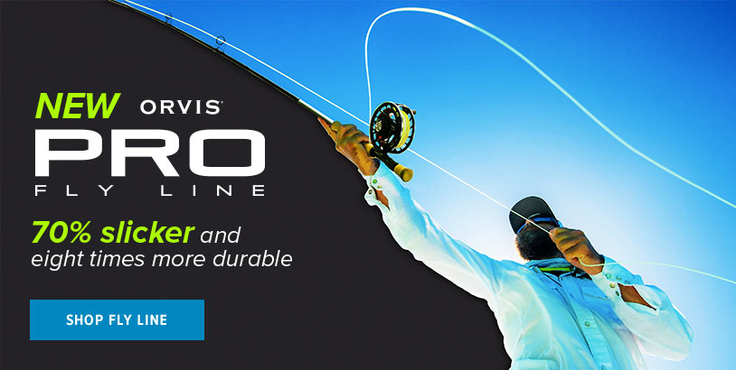 New Pro Fly Line | Shop Now