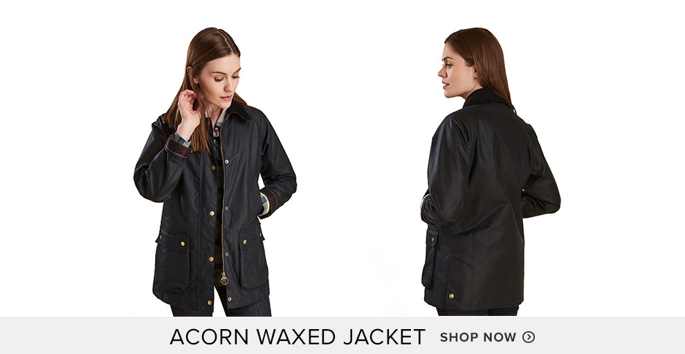 Acorn Waxed Jacket - Shop Now