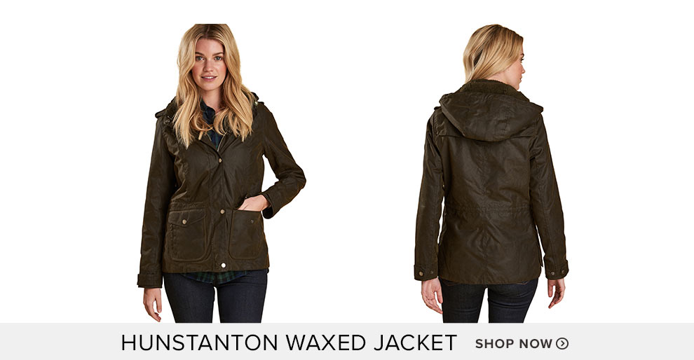 Hunstanton Waxed Jacket - Shop Now