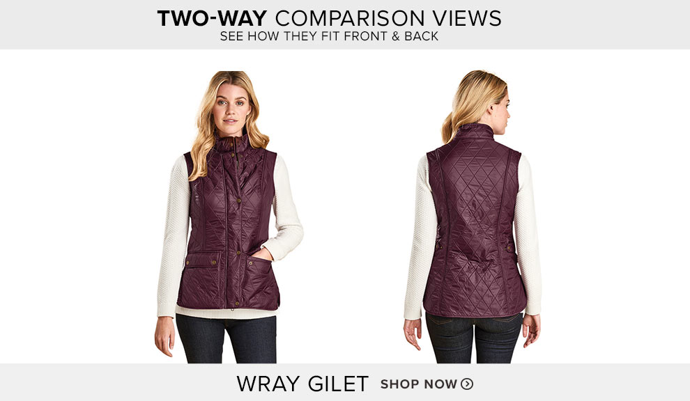 Wray Gilet - Shop Now