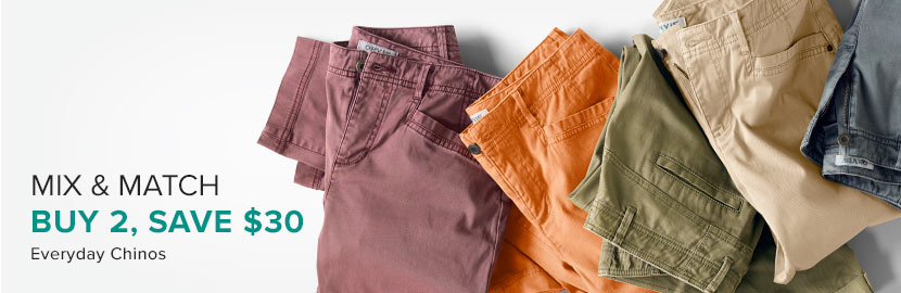 WOMEN'S PANTS-  2SCS & 2FXR, buy 2 Save $30