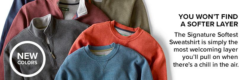 Sweatshirts and Fleece - SHOP NOW