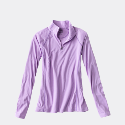 WOMEN'S DRIRELEASE® LONG-SLEEVED QUARTER-ZIP TEE