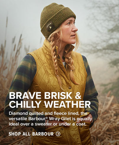 BRAVE BRISK & CHILLY WEATHER 