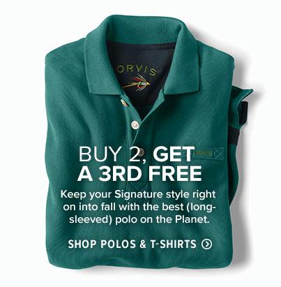 Shop Men's Polos & T-Shirts