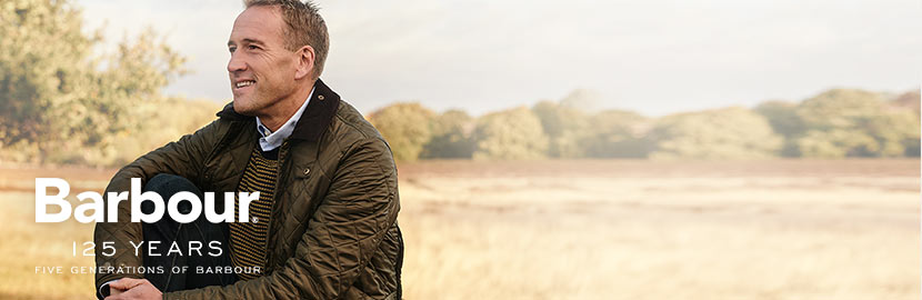 Barbour Outerwear for Men